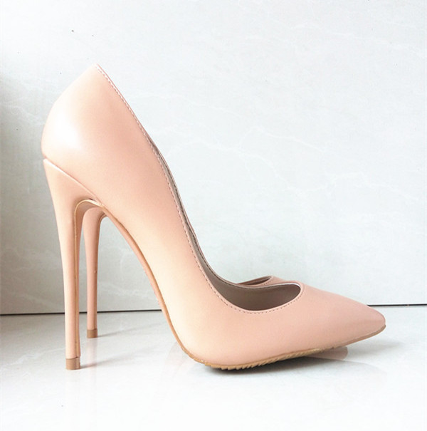 2016 brand high heels patent leather women pumps pointed toe sexy ladies stiletto shoes woman Party Wedding shoes 43 C-814