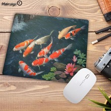 Mairuige Animal Fish Art Professional Gaming Speed Mouse Pad Mat Rubber Keyboard Mat Table Mat Mouse Pads for PC Laptop