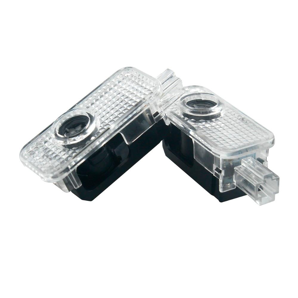 2Pcs LED Car Door Logo Light for AUDI TT A5 B7 A4 A3 B5 B6 B8 A6 C5 C6 Q5 Q7 A4L 80 A1 A7 R8 A6L Q3 A8 S line car styling