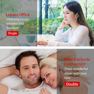 Image 2 - TWS Bluetooth Earphone 5.0 With Mic Charging box True Wireless Mini Earbuds Stereo Music HandsFree Cordless Headset For Phone