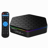 Octa-core Amlogic S912 Android 6.0 Smart TV Box 2 GB 16 GB IPTV media player Kodi 2,4G/5G Dual band WiFI BT4.0 4 Karat H265 Set-Top-Box