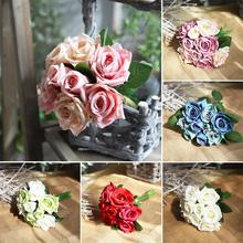 1pc Artificial Flower Bouquet Rose Table Furniture Arrangement Party Wedding Decor HomeDecor
