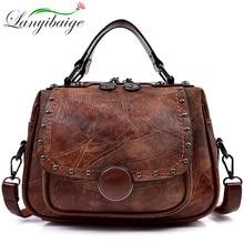Femmes sacs à main mode femmes Messenger sacs rabat sac à bandoulière de luxe Rivet Designer épaule Bolsa haute qualité petits sacs à main