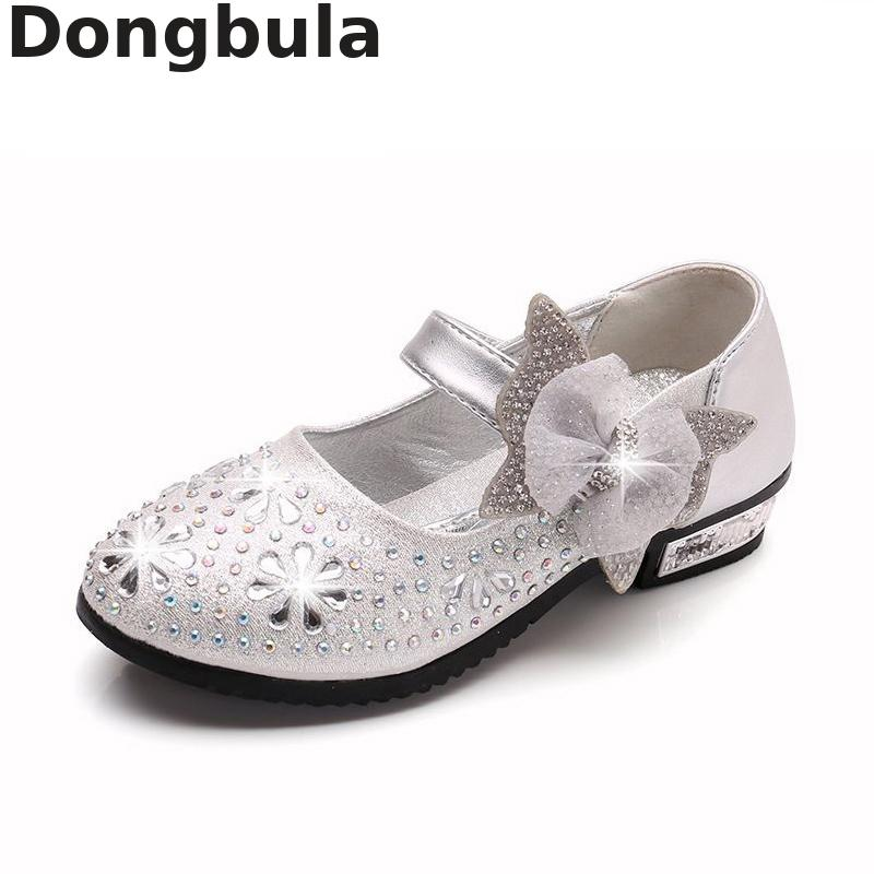 Girls Shoes Princess Wedding Party Fashion Girl Leather Shoes Rhinestone Glitter Bowtie Children Low Heel Shoes Princess ShoesGirls Shoes Princess Wedding Party Fashion Girl Leather Shoes Rhinestone Glitter Bowtie Children Low Heel Shoes Princess Shoes