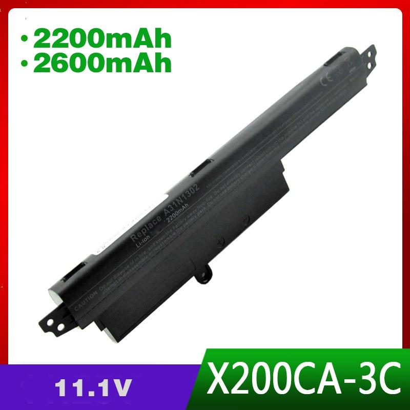 3 cellules 11.1 V batterie dordinateur portable pour asus X200CA X200M X200MA X200CA X200LA 11.6 A31N1302 A31LM2H A31LM9H A3INI302 1566-68683 cellules 11.1 V batterie dordinateur portable pour asus X200CA X200M X200MA X200CA X200LA 11.6 A31N1302 A31LM2H A31LM9H A3INI302 1566-6868