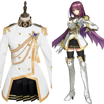 FGO Fate Grand Order Scathach Lancer Cosplay Costume