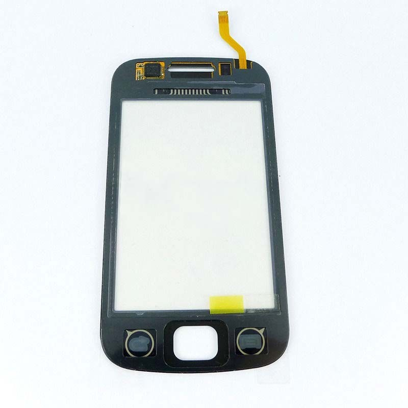 Black / White For Samsung Galaxy Gio S5660 Front Touch Screen Digitizer Panel Glass Sensor