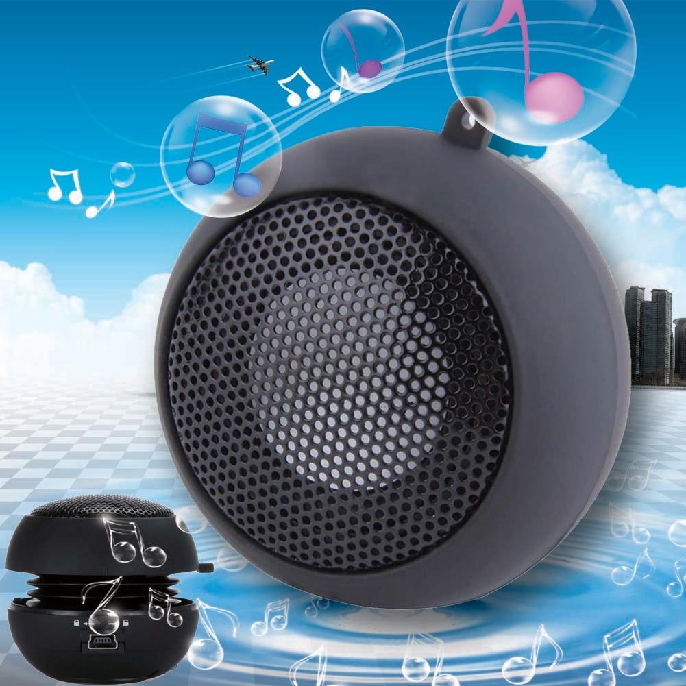 Mini Portable Hamburger Speaker For iPod iPhone Tablet Laptop PC MP3 powered speakers usb speakers sounding louder