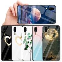 Funda de teléfono de cristal para Huawei Mate 20 Lite P20 Lite P30 Nova 3e 3 3i, funda moderna para Huawei P20 Pro P30 Lite, funda Ultra delgada