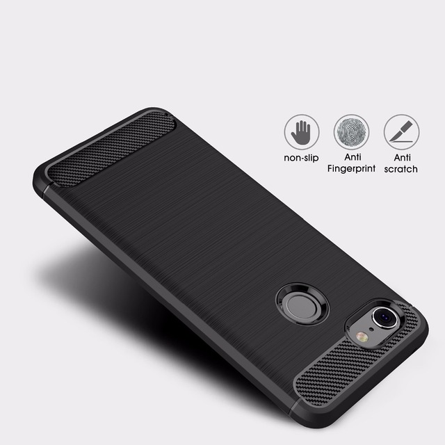 quality design 3d507 4d1fa US $3.99 |For Google Pixel 3 Ultra Thin Carbon Fiber Case Flexible TPU  Drawing Grip Protective Cover Cases for Google Pixel 3 phone Funda-in  Fitted ...