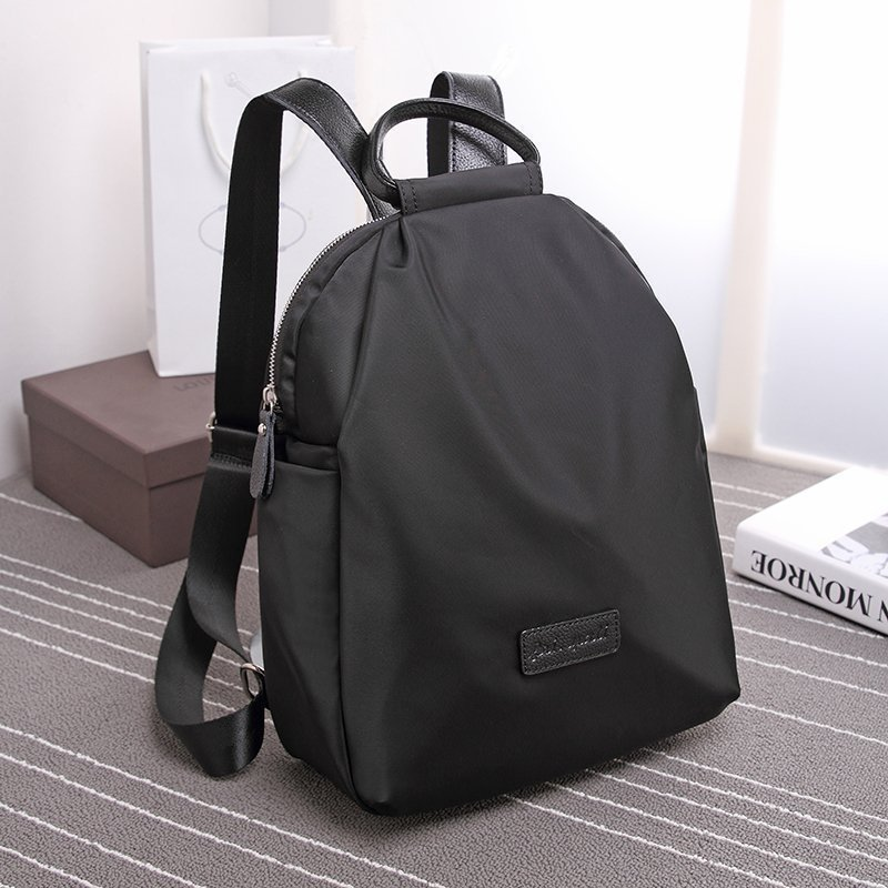 New Arrival Fashionable Korean Style Women Backpack Oxford Nylon Canvas Solid Backpack Casual Simple All match