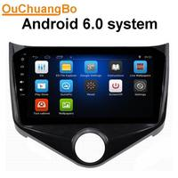 Ouchuangbo car stereo radio gps navigation for Chery Fulwin 2 2013 2014 with Bluetooth android 6.0 system Peru Russia map