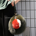 Luxury Designer Multi color Genuine Fur Leather Run Way Clutch trendy Fur Bag Purse 2 size