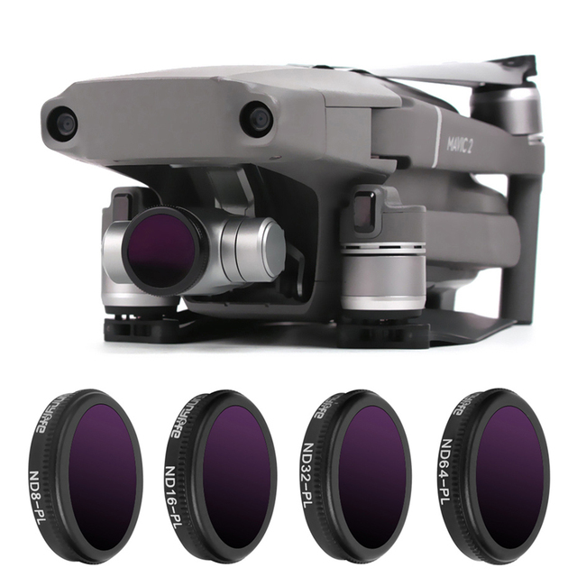 For Mavic 2 Zoom Drone Filter ND 8 16 32 64 Neutral Density With Polarizing Filters Kit For DJI Mavic 2 Zoom Camera Accessories