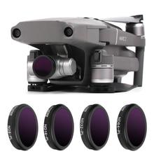 ل Mavic 2 التكبير Drone فلتر ND 8 16 32 64 محايد الكثافة مع الإستقطاب فلاتر كيت DJI Mavic 2 كاميرا زووم اكسسوارات