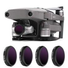 Фильтр для дрона Mavic 2 Zoom, фильтр для дрона ND 8 16 32 64, нейтральная плотность с поляризационными фильтрами, комплект для DJI Mavic 2 Zoom, аксессуары для камеры