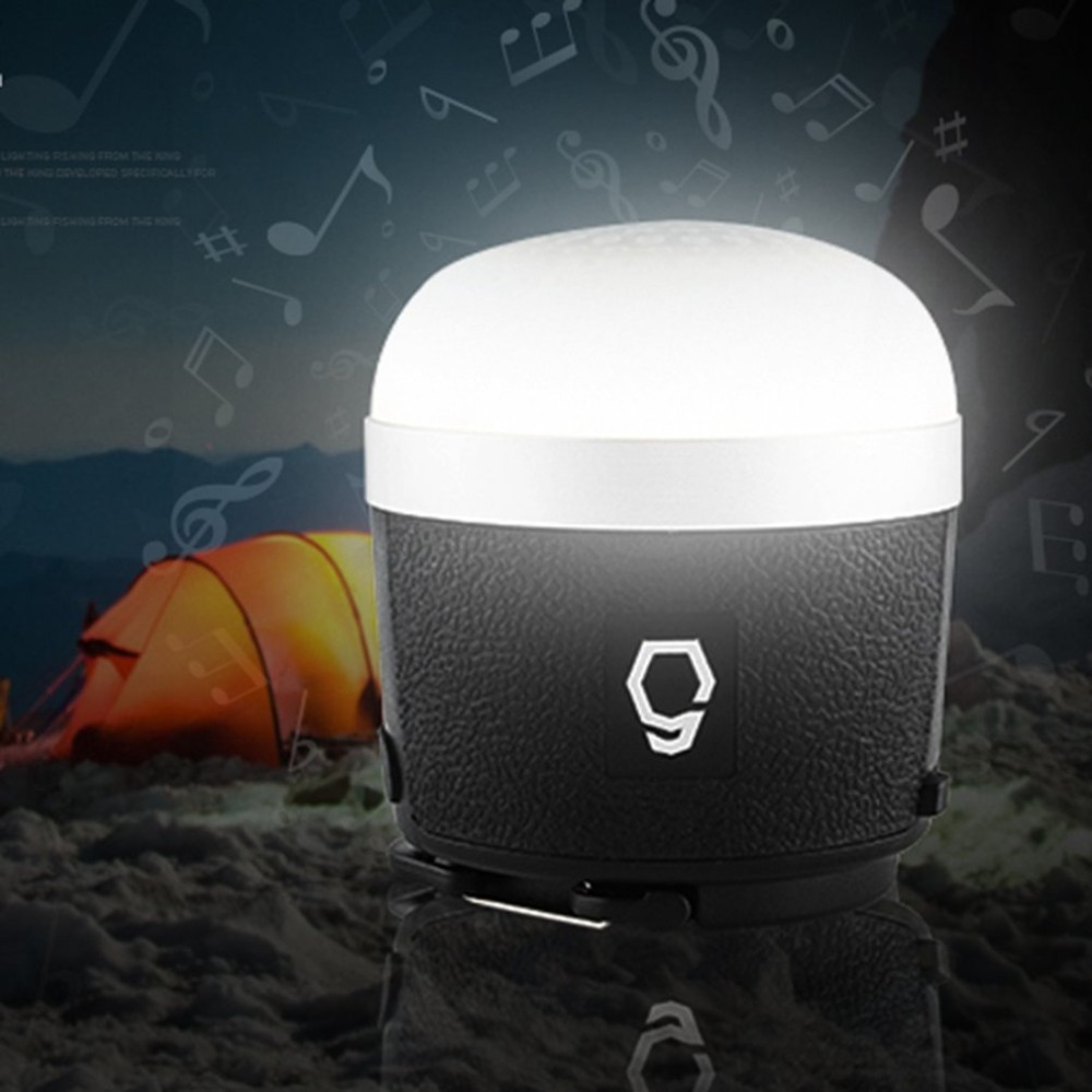 New Arrivel Outdoor Camping Light Bluetooth Speaker Emergency Light Tent Lamp Mobile Power Bank Music Player Wholesale Sale