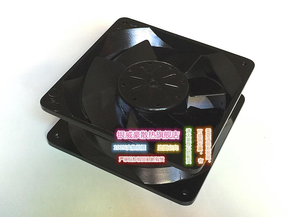 Emacro For Royal Fan UT626DG-TP Server Square Fan AC 220V 23/27.5W 160x160x65mm emacro sf8028h12 53a dc 12v 300ma 80x80x28mm server blower fan