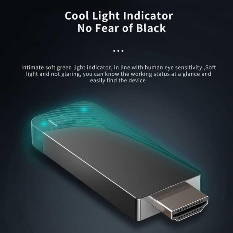 Mirascreen D7 Wifi 2.4G/5G K HD EZCast exibição Wi-fi dongle Tela da TV Vara 4 Por telefono para Ios Android