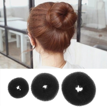 Hair Bun Maker Donut Magic Foam Sponge Easy Big Ring Hair Styling Tools Shaper Hairstyle Hair Accessories For Girls Women Lady Hair Accessories