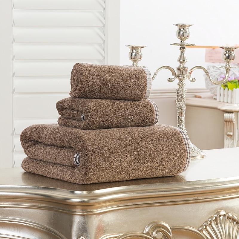 Bath Towels Lots: 2pcs/Lot Towel Set 100% Egyptian Cotton TJ 5048-in Bath