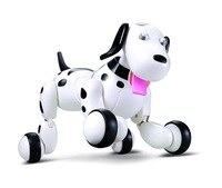 Action Figure spielzeug RC walking dog 2,4G Drahtlose Fernbedienung Smart Hund Elektronische Haustier Pädagogischen Roboter hund