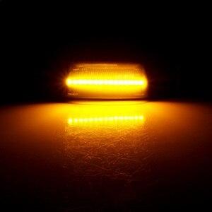 Image 5 - 2 Chiếc Năng Động Đèn LED Bên Cột Mốc LED Tín Hiệu Tuần Tự Blinker Cho Opel Insignia Astra H Zafira B Corsa D dành Cho Xe Chevrolet Cruze