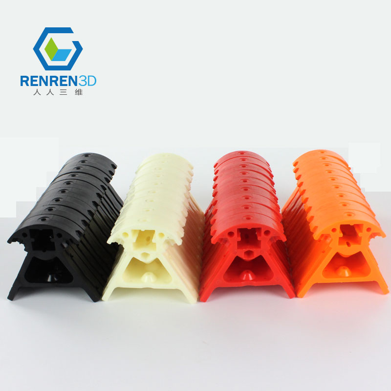 ФОТО 9pcs/set Rostock 3D printer accessories Kossel delta corner pieces kit connection parts plastic injection molded parts