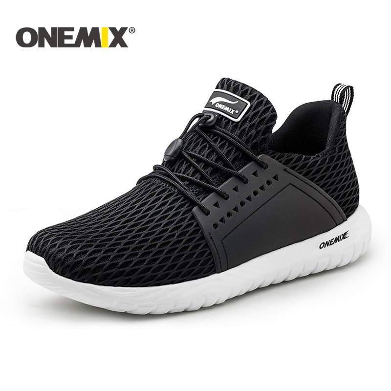 Onemix new summer running shoes unisex breathable mesh lightweight sneaker outdoor walking for men trekking shoes sports sneaker superga unisex 2750 cotu classic sneaker