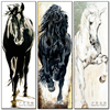 5D Diy Mosaic Horse Art Needlework Animal Diamond Painting Full Rhinestone Cross Stitch Diamond Embroidery Arte
