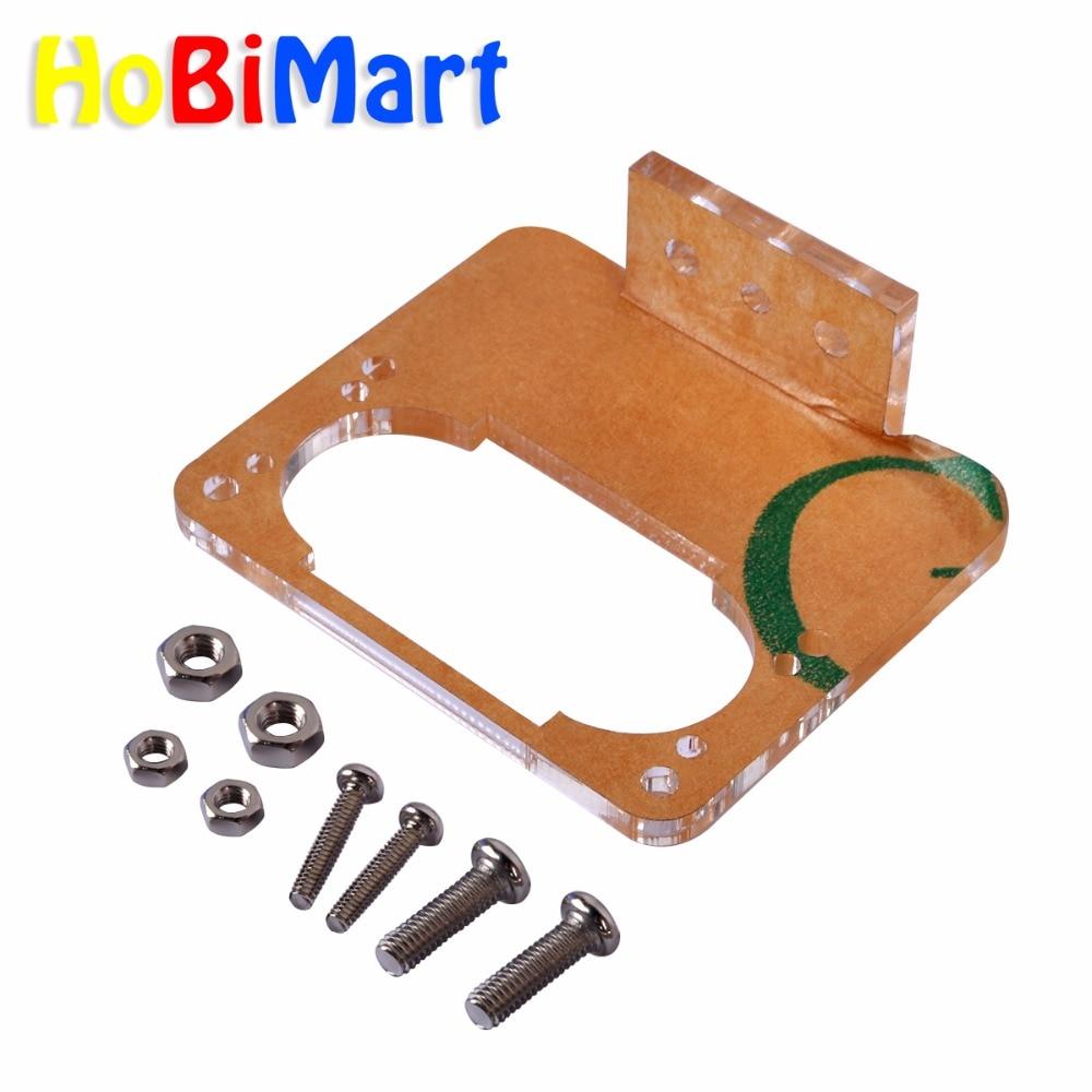 2pcs US-100 / US-020 Ultrasonic Module Fixing Acrylic Bracket / Fixing The Ultrasonic Module Free Shipping #bp1610036-1