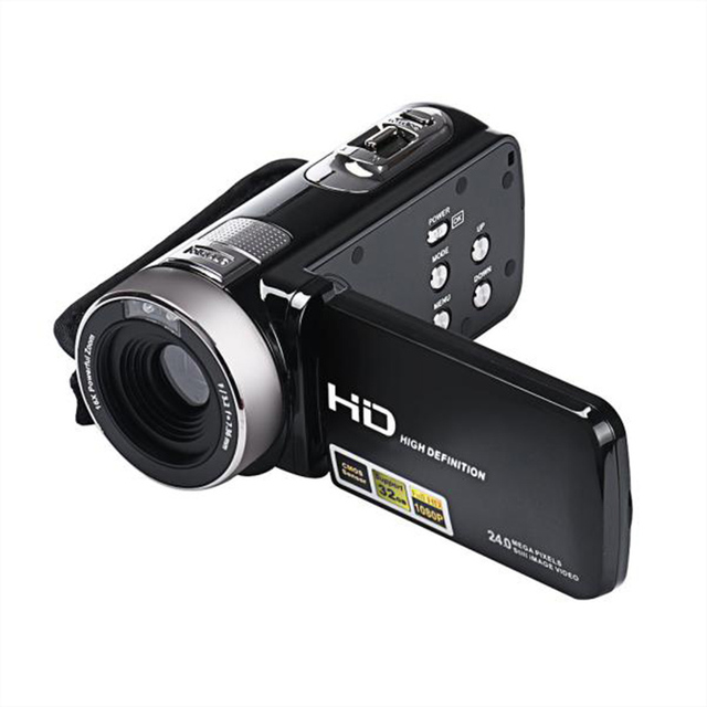 New Arrival! Full HD 1080P 24MP Digital Video Camcorder Camera DV HDMI 3'' TFT LCD 16X ZOOM Camcorder Sports Cam Suppion