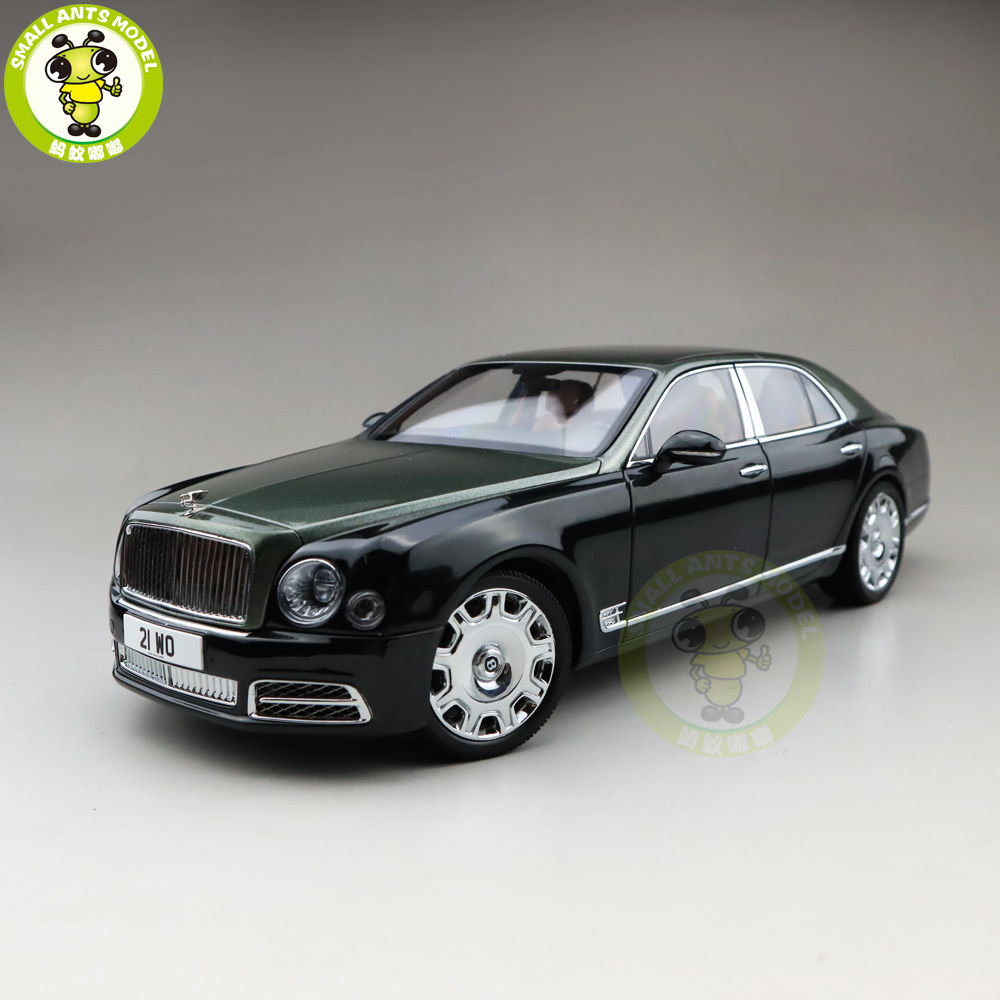 1/18 Almost Real Mulsanne 2017 Diecast Metal Model Car Gifts Collection Hobby