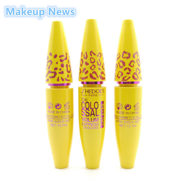 Brand New Makeup Volume Express COLOSSAL Mascara With Collagen Cosmetic Extension Long Curling Waterproof Eyelash Black 2