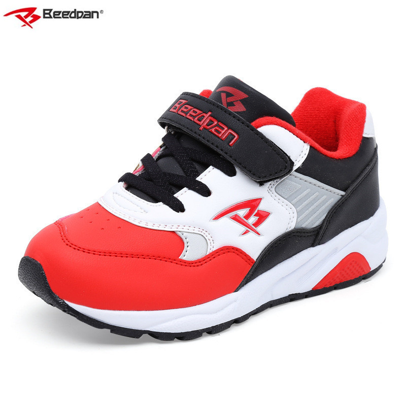 2018 Spring Autumn Boys Shoes Kids Sneakers Children Casual Shoes Boys Sport Shoes Running Fashion Leather Toddler Sneaker Boy 2017 new spring imported leather men s shoes white eather shoes breathable sneaker fashion men casual shoes
