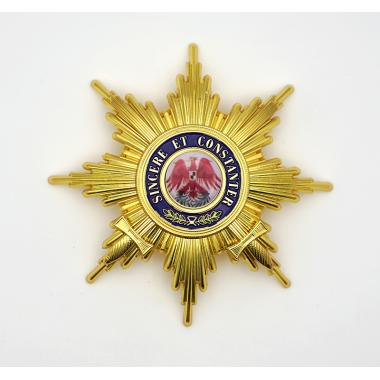 EMD Grand Cross of the Order of the Red Eagle with Swords Breast Star