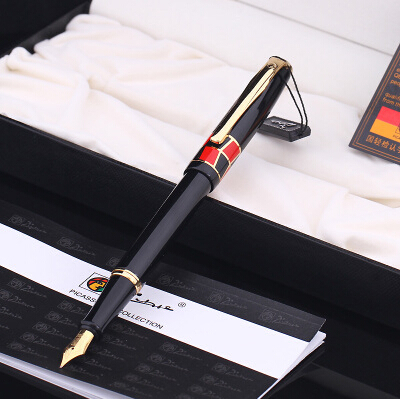 black real Picasso 923 Fountain Pen business gift pen free shipping   school and office Writing Supplies send teacher student real picasso 926 fountain pen business gift pens free shipping school and office writing supplies send teacher father friend 002