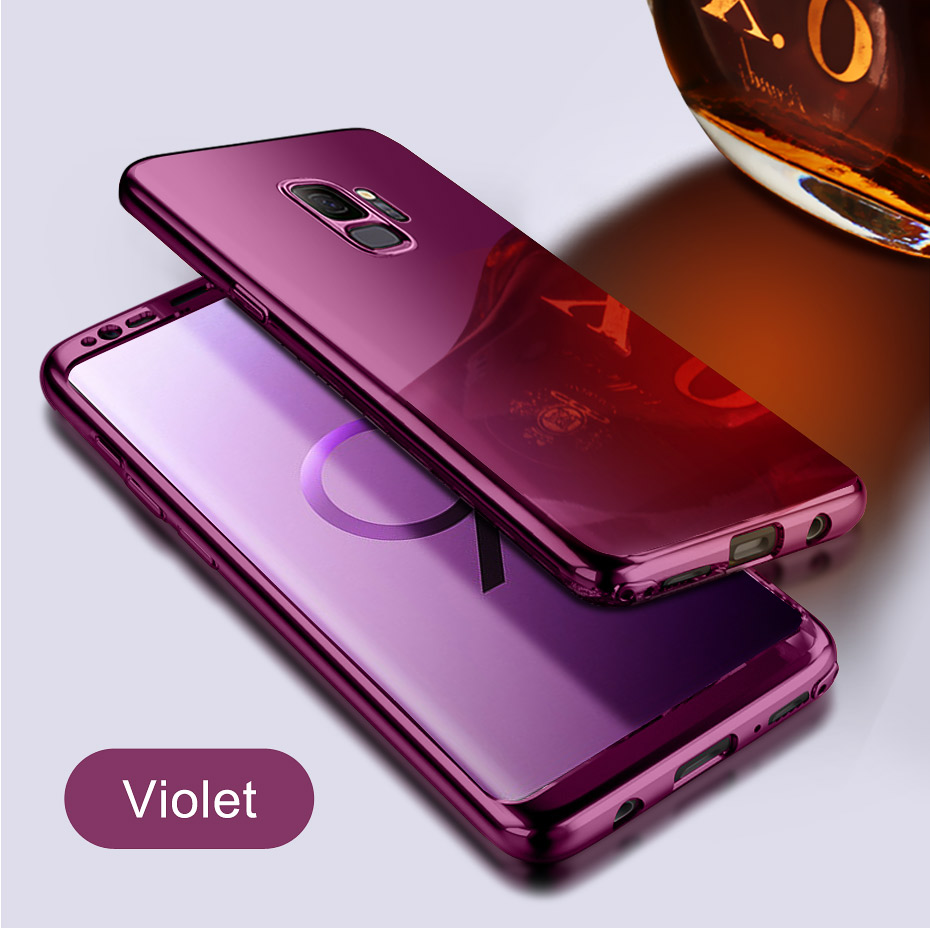 NKOBEE 3 in1 Coque For Samsung Galaxy S9 S8 Plus S7 Edge Note8 Cover Screen Flim For Samsung Galaxy S9 Luxury Case 360 Full Body (6)