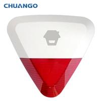 315 Mhz Chuango WS-280 Inalámbrica para Exteriores Sirena Estroboscópica para sistema de alarma de la seguridad casera G5/A11/B11