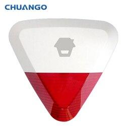 Chuango 315 МГц WS-280 Беспроводной наружная строба сирена для домашней охранной сигнализации G5/A11/B11