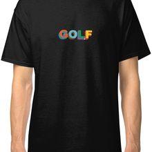 95ca4234d396a1 Golf Wang Men s Black Tees Shirt Clothing 2019 New Fashion T shirt Brand  Hip Hop Print