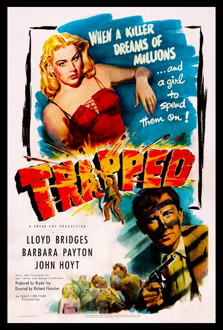 Trapped Beauty Classic Movie Film Noir Retro Vintage Poster Canvas Painting DIY Wall Paper Home Decor Gift image