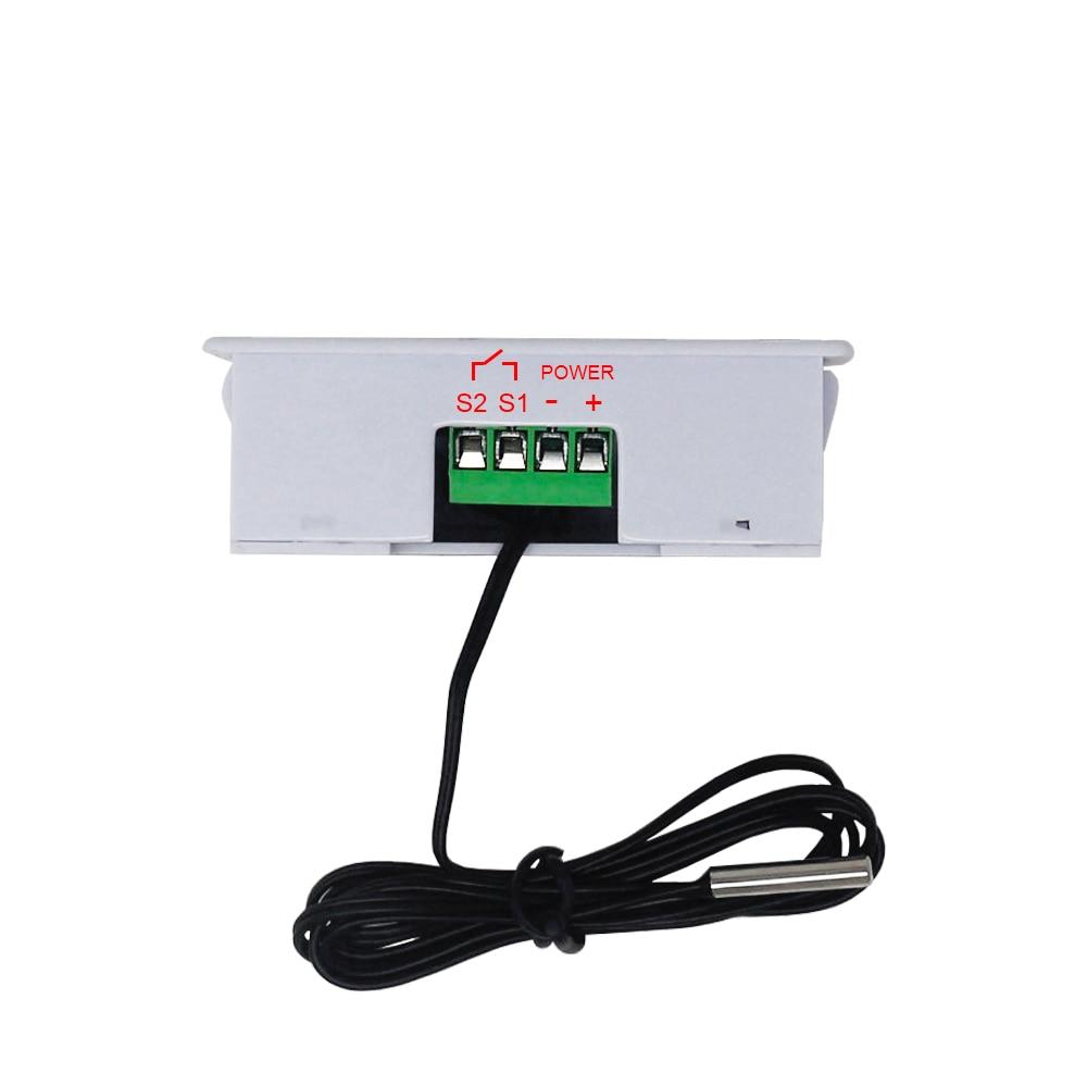 HTB1hcv1dvWG3KVjSZFgq6zTspXas W3230 DC 12V 24V 110V-220V AC Digital Temperature Controller LED Display Thermostat With Heating/Cooling Control Instrument