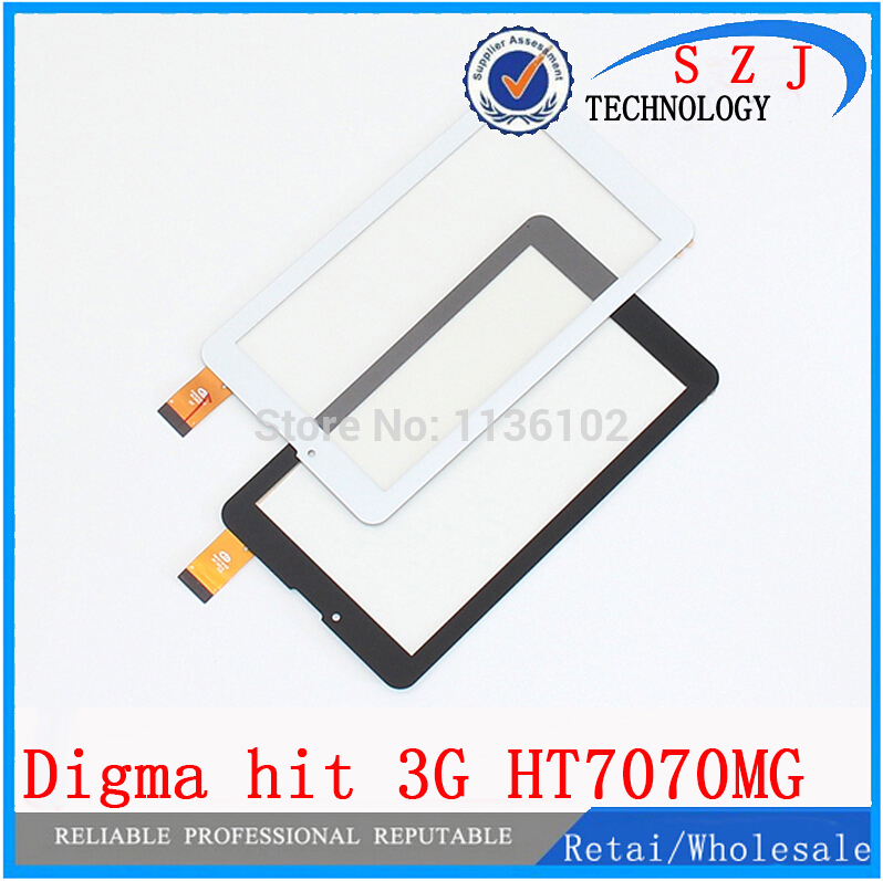 Original 7 inch Digma Hit 3G ht7070mg Tablet Touch screen panel Digitizer Glass Sensor Replacement Free Shipping 7 inch tablet capacitive touch screen replacement for bq 7010g max 3g tablet digitizer external screen sensor free shipping