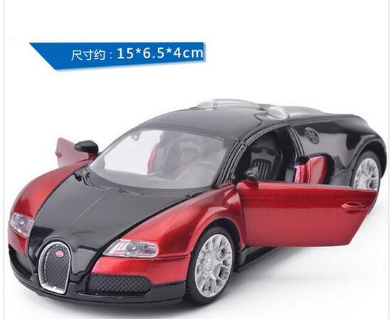 1:32 Scale Bugatti Veyron S Alloy Diecast Car Model Pull Back Toy Cars  Electronic