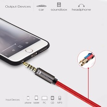 Aux Extension Cable Audio Cable jack 3.5mm male to female Stereo for Phones, Headphones, Speakers, MP3 Players