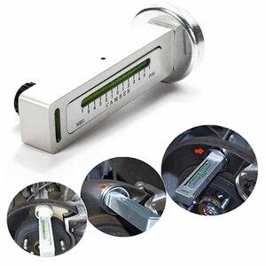 Image 1 - Carro de quatro rodas alinhamento nível magnético calibre nível camber ajuste ferramenta ajuda ímã ferramenta posicionamento
