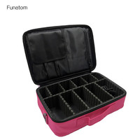 2017 Women High Quality Professional Makeup Organizer Bolso Mujer Cosmetic Case Large Capacity Storage Bag Disassembly