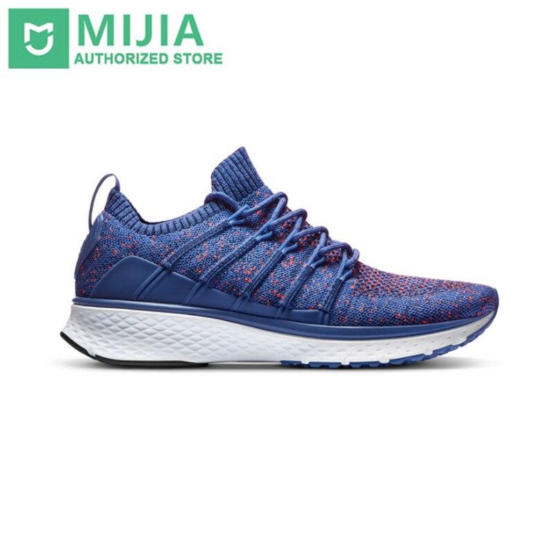 Xiaomi D'origine Mijia Chaussures Sneaker 2 Sport Courir respirant Fishbone Serrure Système Élastique À Tricoter Vamp pour Hommes Sport En Plein Air