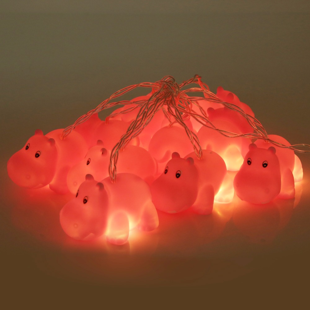 1.8M Cartoon 10 LED Strings Decorative String Light guirlande LED Kids Room Christmas Party Festival Fairy Light Decoration